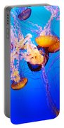 Jellyfish In Abundance Portable Battery Charger