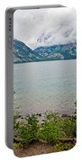 Jenny Lake In Grand Tetons National Park-wyoming  Portable Battery Charger