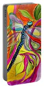 Jenny's Dragonfly In Acrylic Portable Battery Charger