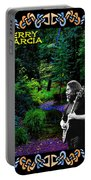 Jerry At Psychedelic Creek Portable Battery Charger