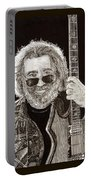 Jerry Garcia String Beard Guitar Portable Battery Charger