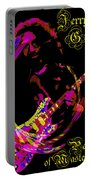 Jerry Garcia Painter Of Masterpieces Portable Battery Charger