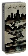 Jersey City Skyline Portable Battery Charger