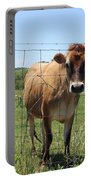Jersey Cow In Georgia Portable Battery Charger