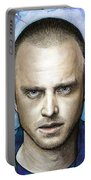 Jesse Pinkman - Breaking Bad Portable Battery Charger by Olga Shvartsur