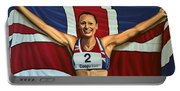 Jessica Ennis Portable Battery Charger