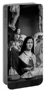 Jesus And Mary At The Curio Shop Portable Battery Charger