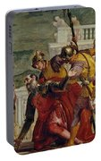 Jesus And The Centurion Portable Battery Charger