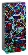Jesus Christ - King Of Peace Portable Battery Charger by Gloria Ssali