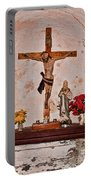 Jesus Christ On Cross  Portable Battery Charger