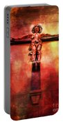 Jesus Christ On The Cross Portable Battery Charger