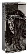 Jesus Christ Portrait Portable Battery Charger