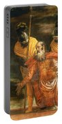 Jesus Healing The Servant Of A Centurion Portable Battery Charger