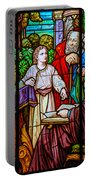 Jesus Teaches In The Temple Portable Battery Charger