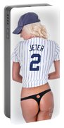 Jeter Fan Portable Battery Charger