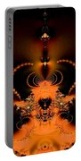 Jeweled Nautilus Glow Portable Battery Charger