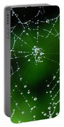 Jeweled Web Portable Battery Charger