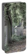 Jewish Cemetery Weissensee Berlin Germany Portable Battery Charger