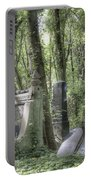 Jewish Cemetery Weissensee Berlin Portable Battery Charger