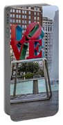 Jfk Plaza Love Park Portable Battery Charger