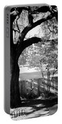 Jfk-the Stockade Fence-dealy Plaza Portable Battery Charger