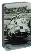 Jim Clark Action Portable Battery Charger
