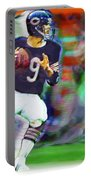 Jim Mcmahon With Walter Payton Chicago Bears Portable Battery Charger