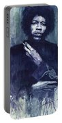 Jimi Hendrix 01 Portable Battery Charger