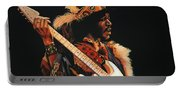 Jimi Hendrix 3 Portable Battery Charger