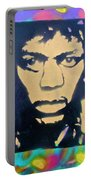 Jimi Hendrix Squared Portable Battery Charger