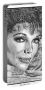Joan Collins In 1985 Portable Battery Charger