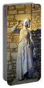 Joan Of Arc Hearing Voices By Francois Rude Portable Battery Charger