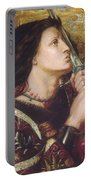 Joan Of Arc Kisses The Sword Of Liberation Portable Battery Charger