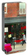 Joblo Restaurant Steakhouse Rue Wellington Verdun Montreal Cafe City Scenes Carole Spandau Portable Battery Charger