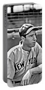 Joe Dimaggio Painting Portable Battery Charger