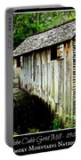 John Cable Grist Mill - Poster Portable Battery Charger