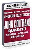 John Coltrane Quartet In Sweden Portable Battery Charger