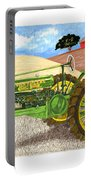 John Deere At Rest Portable Battery Charger by Jack Pumphrey
