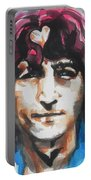 John Lennon..up Close Portable Battery Charger