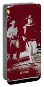John Wayne And Robert Mitchum Publicity Photo El Dorado 1967 Old Tucson Arizona 1967-2012 Portable Battery Charger