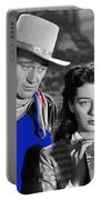 John Wayne Gail Russell Angel And The Badman  Publicity Photo 1947-2012 Portable Battery Charger