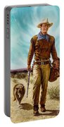 John Wayne Hondo Portable Battery Charger