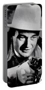John Wayne Two-fisted Law  1932 Publicity Photo Portable Battery Charger