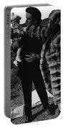 Johnny Cash Flesh And Blood Music Homage Cash Family Old Tucson Az Portable Battery Charger