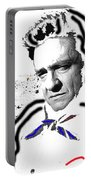 Johnny Cash Man In White Literary Homage Old Tucson Arizona 1971-2008 Portable Battery Charger