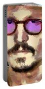 Johnny Depp Actor Portable Battery Charger