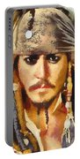 Johnny Depp Jack Sparrow Actor Portable Battery Charger
