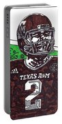 Johnny Manziel 6 Portable Battery Charger by Jeremiah Colley