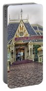 Jolly Holiday Cafe Main Street Disneyland 01 Portable Battery Charger
