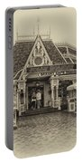 Jolly Holiday Cafe Main Street Disneyland Heirloom Portable Battery Charger